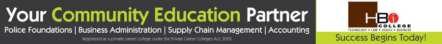 HBI College Logo